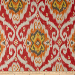 Iman Home Indoor/Outdoor Ubud Coral Fabric