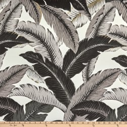 Tommy Bahama Indoor/Outdoor Swaying Palms Onyx Fabric