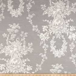 Waverly Country House Toile Platinum Fabric