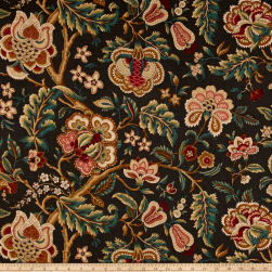Waverly Imperial Dress Noir Fabric