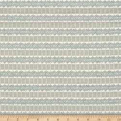 Waverly Admiral Chenille Jacquard Stripe Spa Fabric
