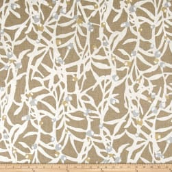 Waverly Zen Spirit Linen Chalk Fabric