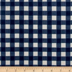 Riley Blake High Adventure Plaid Flannel Blue Fabric