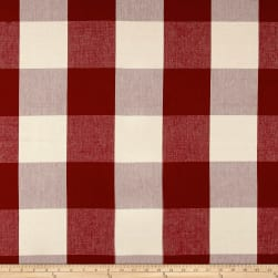 "Laura & Kiran 4"" Check Plaid Canvas Berry"