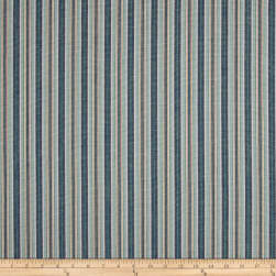 Laura & Kiran Napa Stripe Blues Fabric