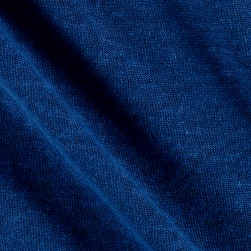 Telio Hemp Jersey Knit Blue Fabric