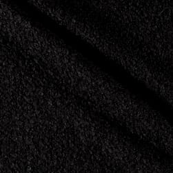 Telio Curly Cue Boucle Black Fabric