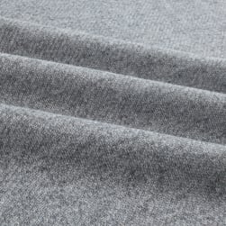Telio Splendid French Terry Knit Medium Grey Fabric