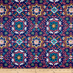 Floral Medallion Twill Multi