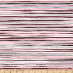 Stof Avalana Jersey Knit Pink/Grey/Black Fabric