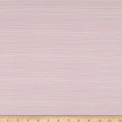 Stof Avalana Jersey Knit Stripe Pink/White Fabric