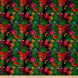 Stof France Bletilla Multicolore Fabric