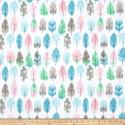 Stof France Nepo Rose/Bleu Fabric