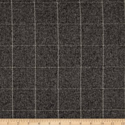 P/Kaufmann Faux Wool Strut Graphite Fabric