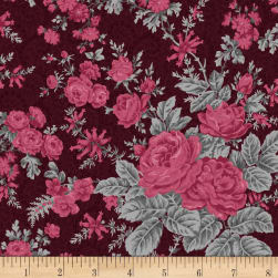 Rouge et Noir Flowery Bliss Dark Red