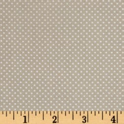 Bro.ther Sis.ter Dotty Taupe Fabric