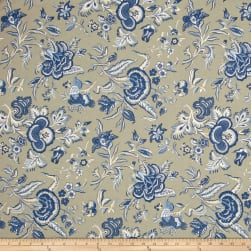 Blueberry Buckle Jacobean Bliss Khaki Fabric