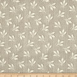 Blueberry Buckle Berries & Leaves Khaki Fabric