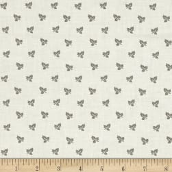 Blueberry Buckle Maple Leaves Light Cream Fabric