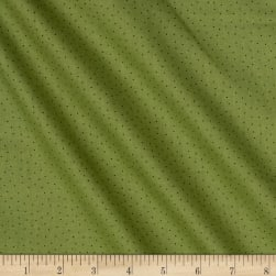 Carte Postale Micro Dot Olive Fabric