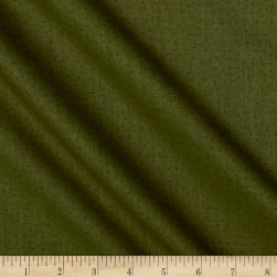 Carte Postale Micro Dot Dark Olive Fabric