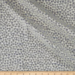 Subtle Dotted Texture Jacquard Slate Fabric