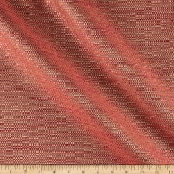 Metallic Tweed Jacquard Ruby Fabric