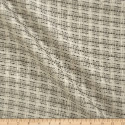 Chunky Tweed Texture Basketweave Pewter Fabric