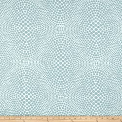 Blue Dot Jacquard Sky Fabric