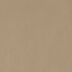 Machine Washable Solid Poly Quarry Tan Fabric