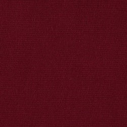 Machine Washable Solid Poly Wine Fabric