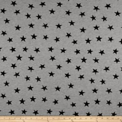 Stof Avalana Sweatshirt Fleece Stars Black/Grey