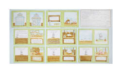 "Timeless Treasures Cotton Tale Farm 23"" Book Panel Multi"