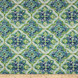 Richloom Solarium Outdoor Splendor Lagoon Fabric