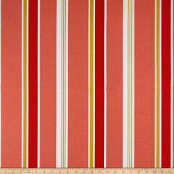 Richloom Solarium Outdoor Heat Wave Coral Fabric