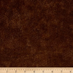 Andover Dimples Bruin Fabric