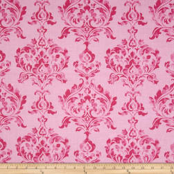 Berkshire Garden Damask Pink Fabric