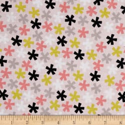 Meow Pink Fabric