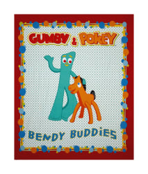 Riley Blake Gumby Red Panel
