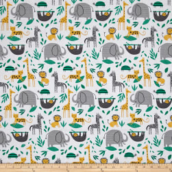 Wild About You Gone Wild White Fabric