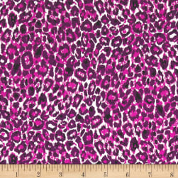 Art Gallery Esoterra Leopardess Orchid Purple Fabric