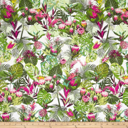 Art Gallery Esoterra Tropicalia Light Green Fabric