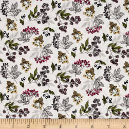 Botanica Forest Fruits Antique Fabric