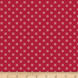 Art Gallery Indie Folk Whirl Rouge Red Fabric