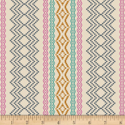 Art Gallery Indie Folk Pathways Rich Cream Fabric