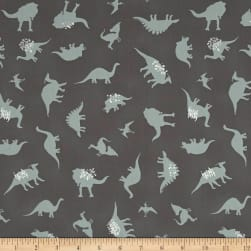 Art Gallery Esoterra Dinomania Subtle Grey Fabric