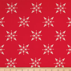 Compassion Ruby Red Fabric