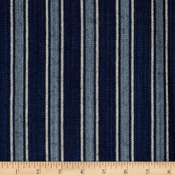 Ralph Lauren Home Bungalow Stripe Canvas Indigo