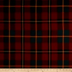 Ralph Lauren Home Colter Falls Plaid Tartan Red
