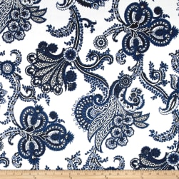 Ralph Lauren Home Outdoor Bay Island Indigo Fabric